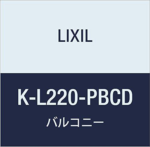 LIXIL(リクシル) TOEX ビュ-ステージH前面P横格子ルーバーMM端部2枚入 K K-L220-PBCD B0742NWZ8R