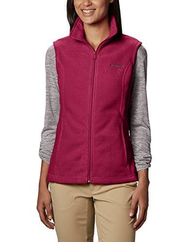 Columbia Women's Benton Springs Vest, Pomegranate X-Small