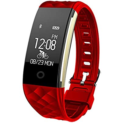 Fitness Tracker S2 Waterproof Smart Bracelet Heart Rate Monitoring Pedometer Calorie Wristband for Android and Ios-Three Colors Optional Estimated Price £29.10 -