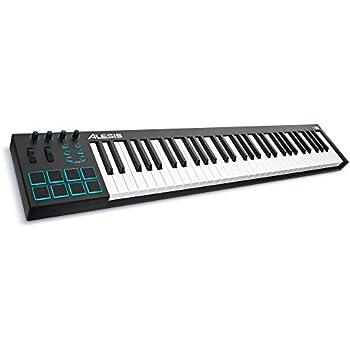 Amazon.com: Alesis VI61 61-Key USB MIDI Keyboard Controller ...