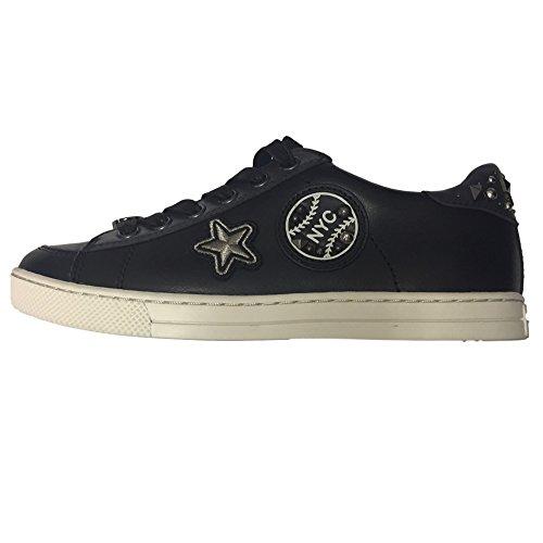 Sneakers Da Portiere Da Donna, Nero / Blu Notte