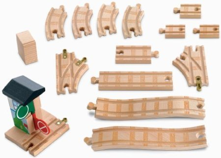 Thomas Wooden Railway - Deluxe Figure 8 Expansion Track Pack - Figure 8 Expansion Track