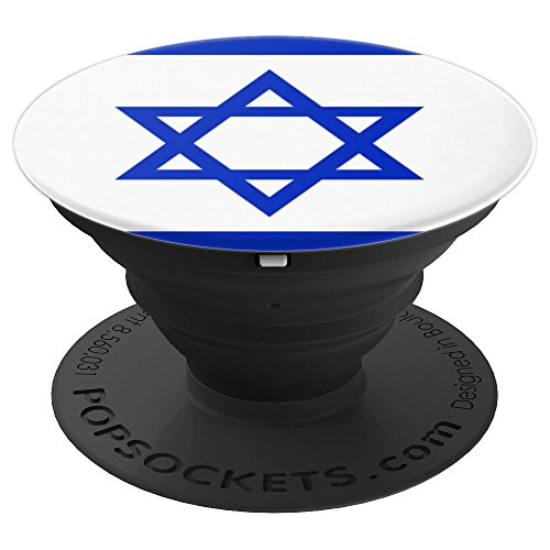 Star of David Israel Flag - PopSockets Grip and Stand for Phones and Tablets -