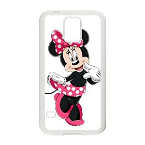 Samsung Galaxy S5 Cell Phone Case White Disney Mickey Mouse Minnie Mouse Jgfa