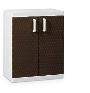 toomax rattan medium 2 door 2 shelf indoor. Black Bedroom Furniture Sets. Home Design Ideas