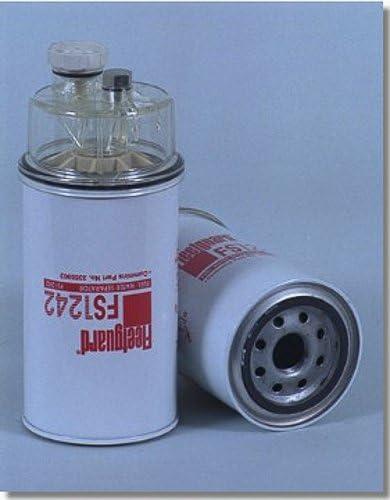 FLEETGUARD FUEL//WATER SEPARATOR FS1242B 6 PCS//BOX Xref: BALDWIN BF1321; DONALDSON FFP55-5001; NAPA 3431; WIX 33431