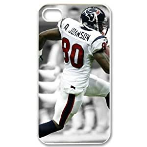 Cheap 1573669M40377870 iPhone 4/4s hard case with Houston Texans Andre Johnson image