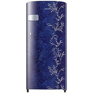 Samsung 192 L 2 Star Direct-Cool Single Door Refrigerator (RR19T2Y1B6U/NL, Mystic Overlay Blue)