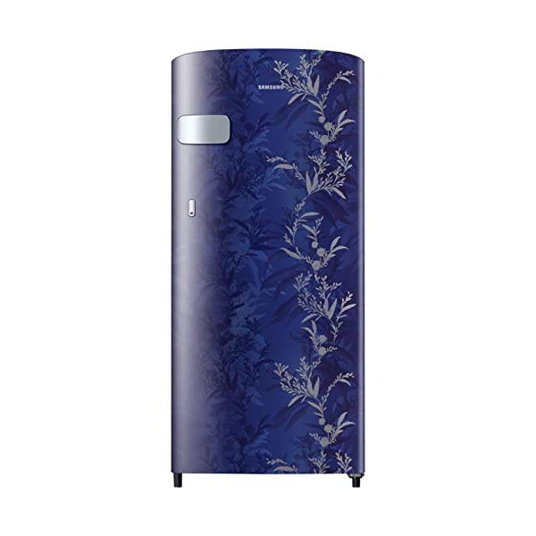 Samsung 192 L 2 Star Direct-Cool Single Door Refrigerator (RR19T2Y1B6U/NL, Mystic Overlay Blue) 2021 July Direct-cool refrigerator : Economical and Cooling without fluctuation Capacity 192 liters: Suitable for families with 2 to 3 members and bachelors Energy rating 2 Star