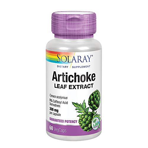 Solaray Artichoke Leaf Extract, 300mg, 60 Count