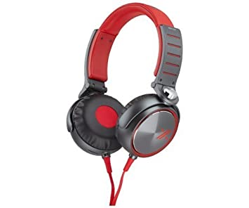 Sony MDRX05 RB Over-the-Ear Headphones Red Black