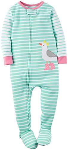 Carters Baby Girls Applique Footie 331g064