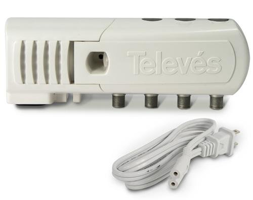 Televes TV Antenna Distribution Amp 3-Port with LTE Filtering