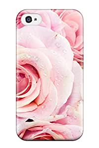 New Style PC Case For Iphone 6 4.7Inch CoverProtective Case Cover/ Iphone CaPink Roses