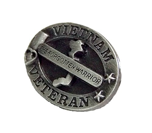 (Vietnam Veteran The Forgotten Warrior Marines Navy Army Air Force Lapel Hat Pin PPM7501 (1 Pin))