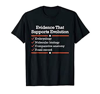 Amazon.com: Pruebas de que soporta Evolution Camisa, Verde ...