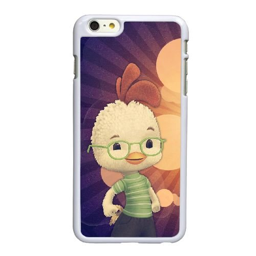 K3O20 Chicken Little Z2Z2ZW coque iPhone 6 Plus de 5,5 pouces cas de couverture de téléphone portable coque blanche DL7PEJ6WE
