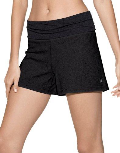 Champion Power Cotton Women's Roll Down Shorts