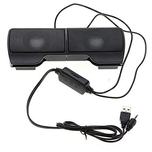여왕.Y 클립에 컴퓨터 스테레오 스피커 휴대용운드바로 볼륨 조절을 위해 노트북 PC WINDOWS 데스크톱 전화 휴대용 소형 건강한 바-플러그 앤 플레이