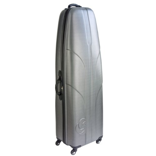 - Samsonite Golf Hard-Sided Travel Cover Case, Titanium