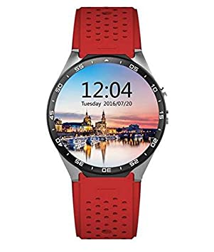 KingWear KW88 Android 5.1 Amoled Screen 3G Smartwatch Phone ...