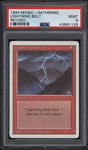 Check expert advices for mtg lightning bolt revised?