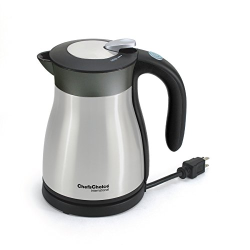 Chef'sChoice 691 International Keep Hot Thermal Electric Kettle, 1.2 L, Stainless Steel by Chef'sChoice