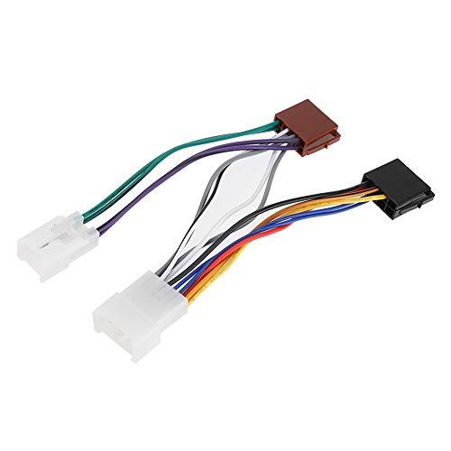 Aramox ISO Wiring Harness, Car Audio Line Plug Connector Connection Line Interior ISO Wiring Harness: