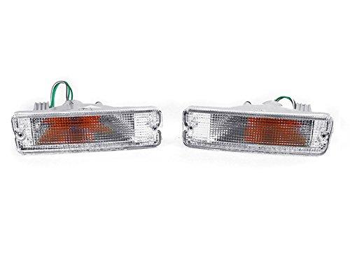 - DEPO 1989-1990 Nissan 240SX S13 / 1990-1992 Stanza Clear Bumper Signal Lights.
