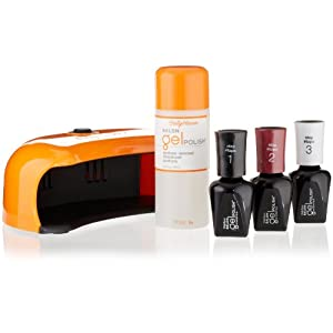 Sally Hansen Salon Pro Gel Starter Kit, Wine Not