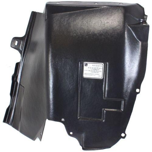 - Make Auto Parts Manufacturing Premium Front Driver/Left Side Direct Fit Splash Shield Plastic For Chrysler Sebring 2001-2006 / Dodge Stratus 2001-2006 - CH1250127