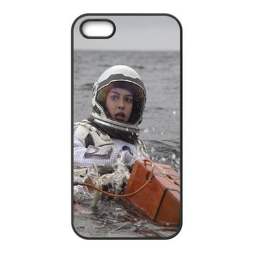 Interstellar Star coque iPhone 4 4S cellulaire cas coque de téléphone cas téléphone cellulaire noir couvercle EEEXLKNBC25939