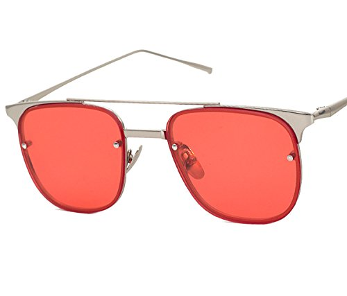Price comparison product image Summer candy color ladies wild fashion big frame glasses 863,  Gold frame yellow film C9