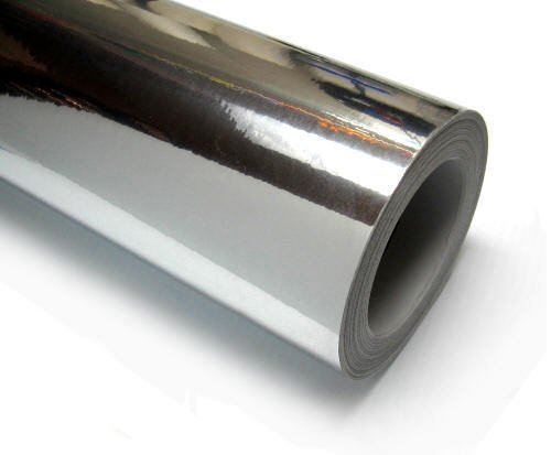 chrome vinyl roll