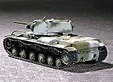 Trumpeter 1/72 Russian KV1 Mod 1941 Tank (Small Turret)