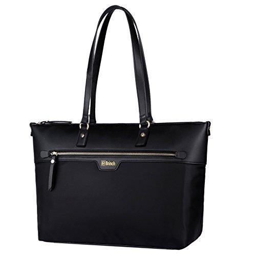 laptop-totebrinch-nylon-microfiber-leather-stylish-zipper-carrying-shopping-duffel-bag-travel-busine