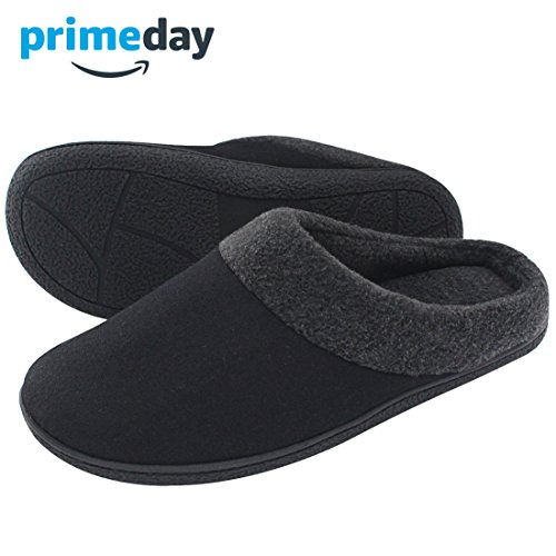 HomeTop - Zapatillas de estar por casa para hombre negro