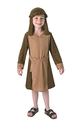 Rubie's Christmas Little Boys' Shepherd Costume 3-4 Years - Kids Innkeeper Costume