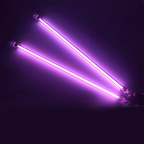 E Support 12 Inch 30cm Car Purple Undercar Underbody Neon Kit Lights CCFL Cold Cathode Pack of 2 (12