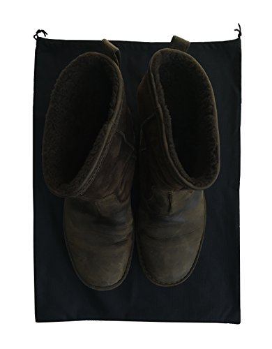 2 Woly XXL Shoe Bags (18''x 14'' in.) Fits 2 Pairs of Shoes Per Bag. Good for Travel. Made in Germany. by Woly (Image #4)