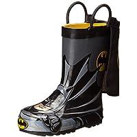 Western Chief Kids' Waterproof D.c. Comics Character Rain Boots Easy on Handles