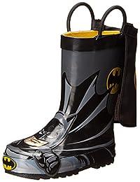 Western Chief Batman Everlasting Rain Boot (Infant/Toddler/Little Kid),Black,11 M US Little Kid