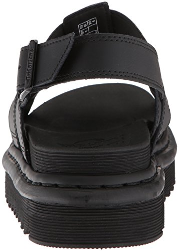 Yelena WoMen 001 Sling Dr Sandals Leather Black Back Hydro Martens Black qaTCRC