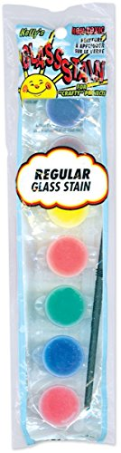 The New Image Group Glass Stain Paint Pots-Regular