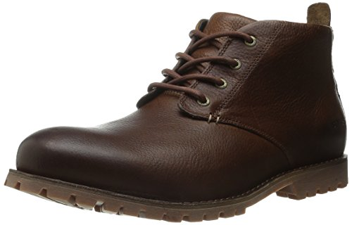 Bogs Men's Johnny Waterproof Chukka Boot, Scotch, 11 M US