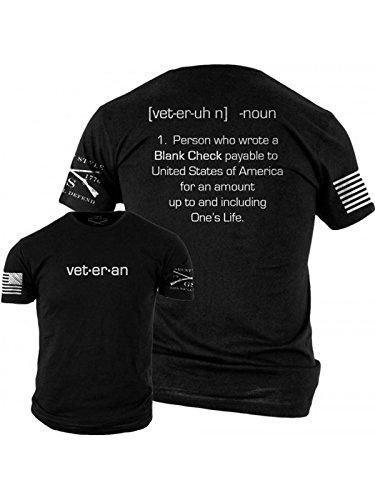 Alpha Ribbed T-shirt - Grunt Style Blank Check Men's T-Shirt (Medium)