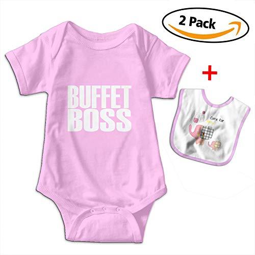 (Bennett Buffet Boss Baby Short-Sleeve Jumpsuit Outfits Jumpsuits Bib)