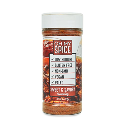 Sweet & Savory Low Sodium Keto Seasoning, Kick Your New Year's Resolution Off Right, Perfect for People Looking for Paleo, Vegan, and Gluten-Free Seasoning for Their Meals