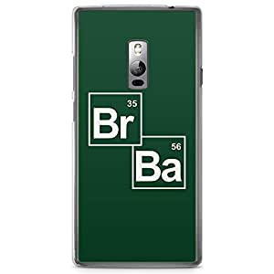 OnePlus Two Transparent Edge Case Breaking Bad Science B