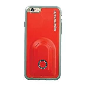 Promate ultrafinas selfieCase-i6 carcasa costándoles cámara inalámbrica escombreras para Apple iPhone 6/6S - rojo